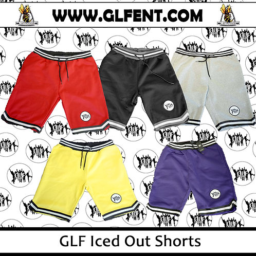 GLF iced Out Shorts