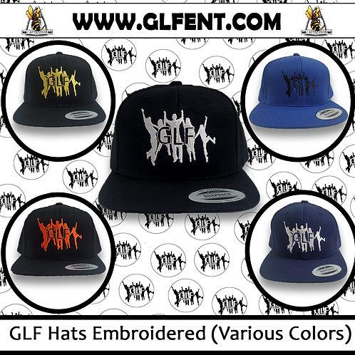 GLF Hats Embroidered Snapback