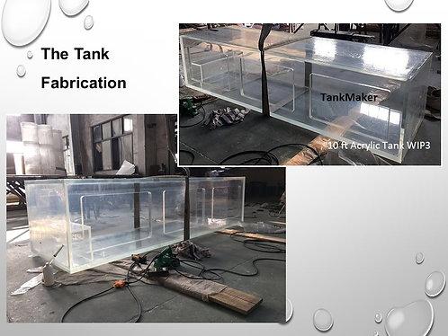 3 meter Acrylic Aquarium Package (10ft Lengrth)