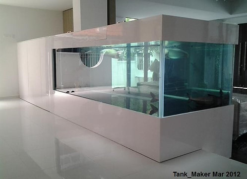 10 ft Glass Aquarium (Plug & Play freshwater Setup)