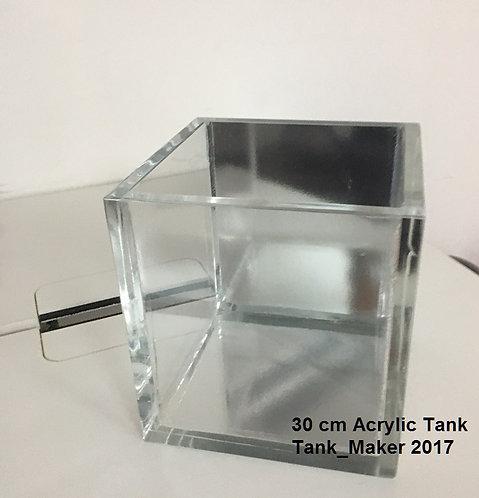 1 ft Cube Acrylic Aquarium