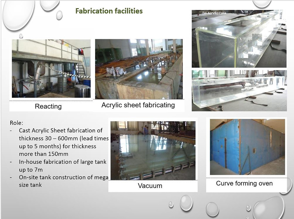 Acrylic Manufacturing Facility