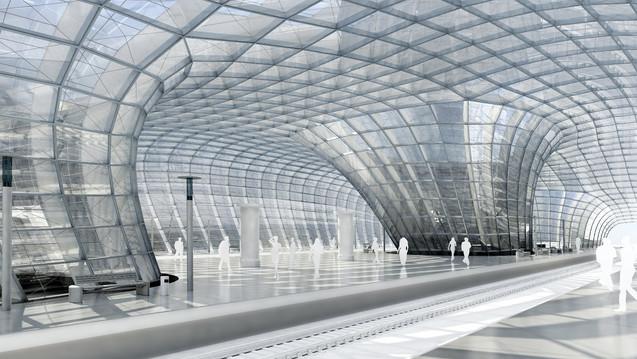 Railway station 2006