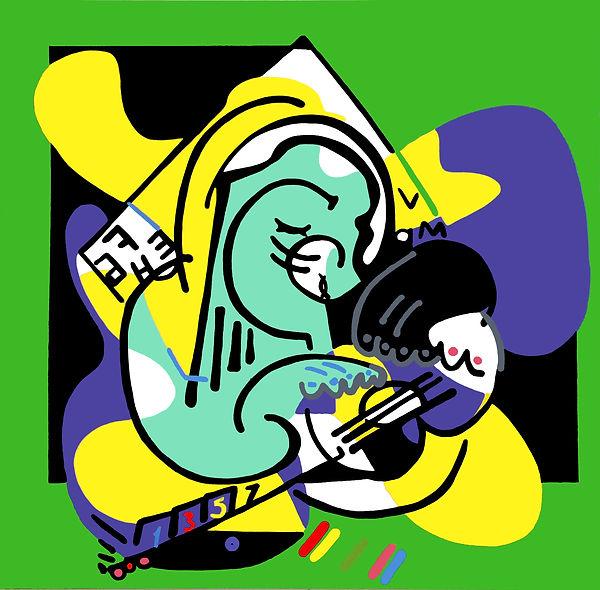 Figurative Abstraction  no.39  Jason Bec