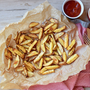 Easy, Healthy, Homemade French Fries (Gluten-Free, Whole 30, Vegan )