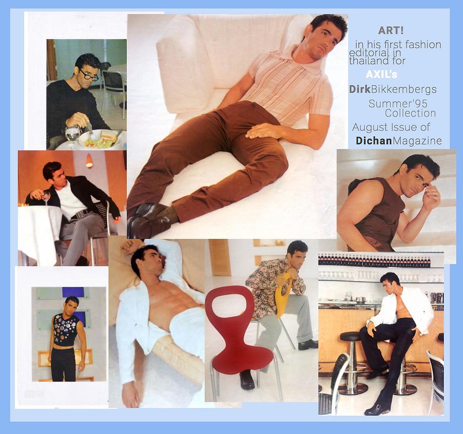 Art Supawatt Purdy (ศุภวัฒน์ อ่ำประสิทธิ์) in Dirk Bikemberg for Dichan Magazine