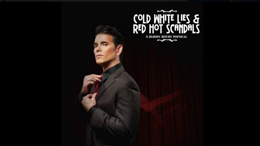 Art Supawatt Purdy ศุภวัฒน์ อ่ำประสิทธิ์ Cold White Lies Red Hot Scandals Poster