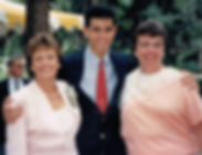 Art Supawatt Purdy with his moms Linda Purdy and Sharon Purdy อาร์ตกับแม่บุญธรรมทั้งสองคือ ลินดา และ แชรอน เพอร์ดี้