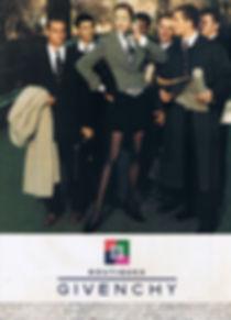 Art Supawatt Purdy ศุภวัฒน์ อ่ำประสิทธิ์ in Givenchy Advertisement in Vogue 1995