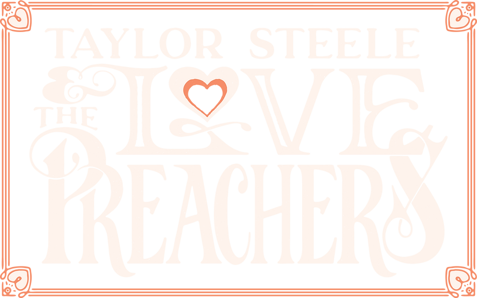 Taylor Steele and the Love Preachers Logo