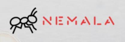 נמלה - סטודיו למיקרו-קופי לוגו אילוסטרציה