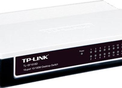 מתג שולחני 16 ערוצים (פלסטיק) TP-LINK