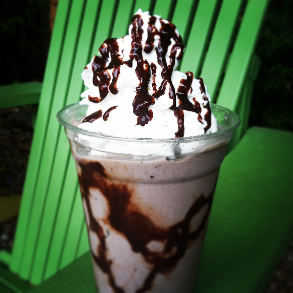 Milk Chocolate Mocha Frappe