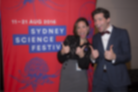 Isabele Kingsley, Alan Duffy, Sydney Science Festival