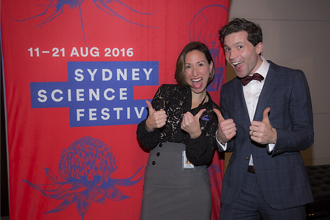 Isabele Kingsley, Alan Duffy, Sydney Science Festival