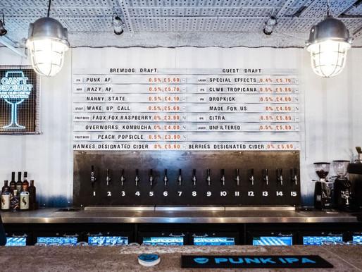 BrewDog inova e lança primeiro bar de cerveja sem álcool do mundo!