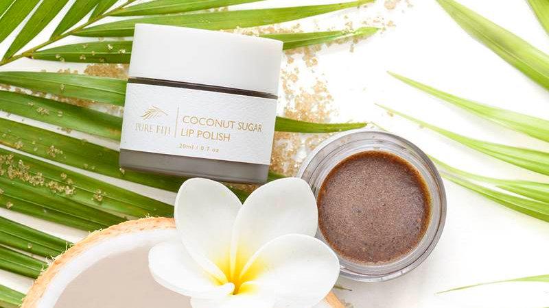 Coconut Sugar Lip Polish 20g