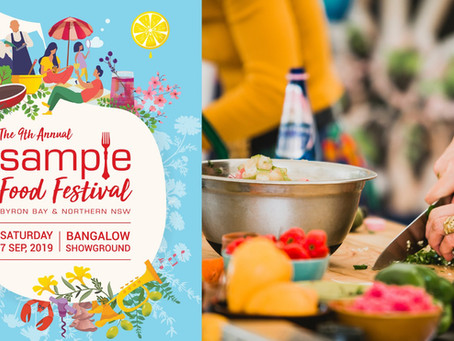 Get Ready for Sample Food Festival 7th September in Bangalow NSW!