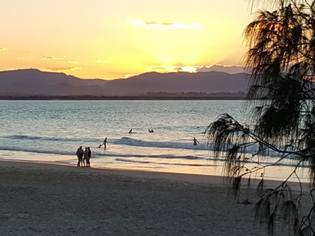 What a Byron Bay Beach Sunset can do for your Life