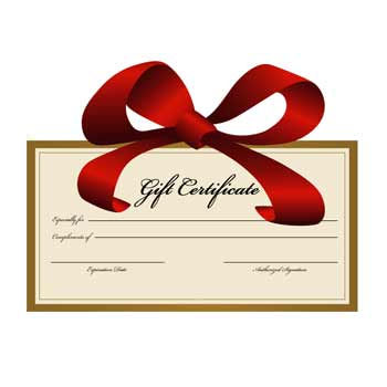 GIFT CERTIFICATE ONLY (60 Min)
