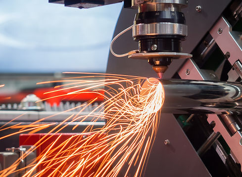 High precision CNC laser cutting metal s