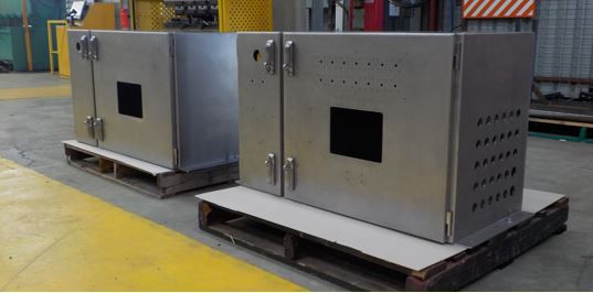 Stainless Steel Eletrical Cabinets