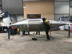 Aluminium Concrete Roller