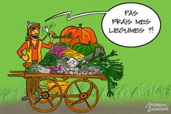 Vendeur de légumes