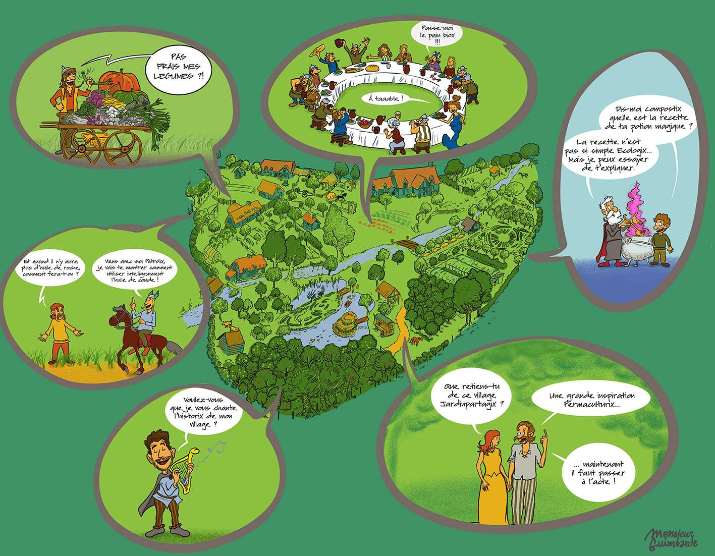 Village permaculture
