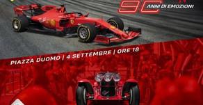 4 settembre 2019 Milano: festa Ferrari per i 90 anni del GP d'Italia
