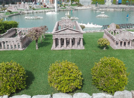 I Templi di Paestum in miniatura