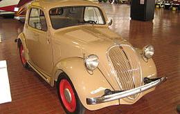 Fiat 500 Topolino: l'origine, la storia e curiosità