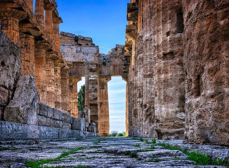 Adotta un blocco delle mura di Paestum