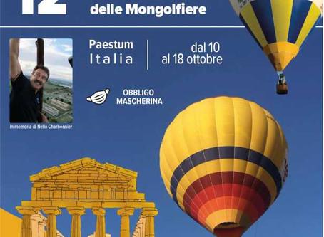 Paestum dal 10 al 18 ottobre 2020 Festival delle Mongofliere