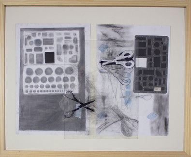 photogram with drawing material (2)
