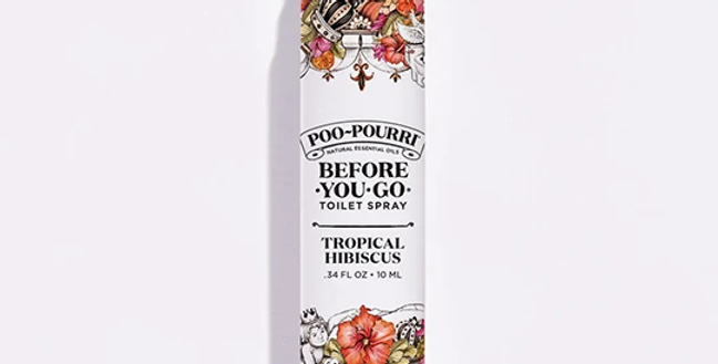 Tropical Hibiscus Poo-pourri .34