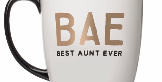 BAE Best Aunt Ever Ceramic Mug