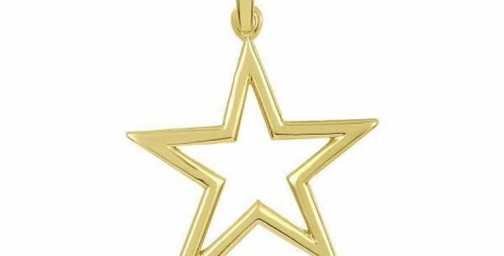 Icons Shooting Star Charm Solid