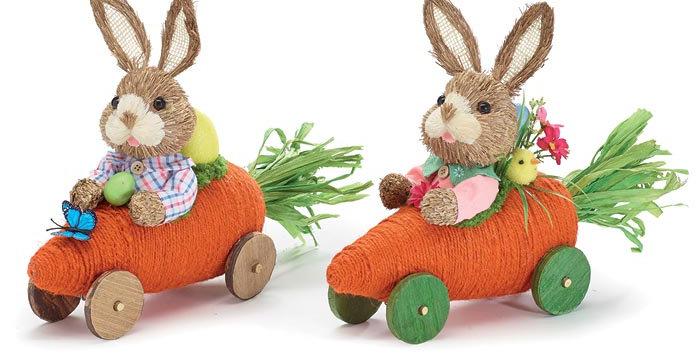 Carrot Car Bunnies