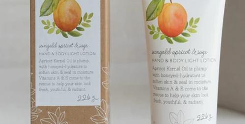 Sungold Apricot & Sage Lotion