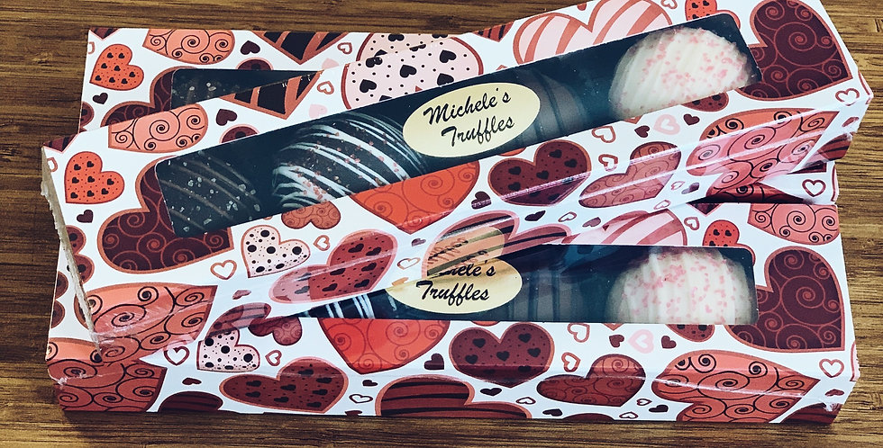 4pc Valentines Truffle