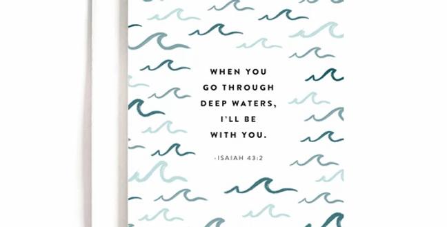 Deep Waters Card