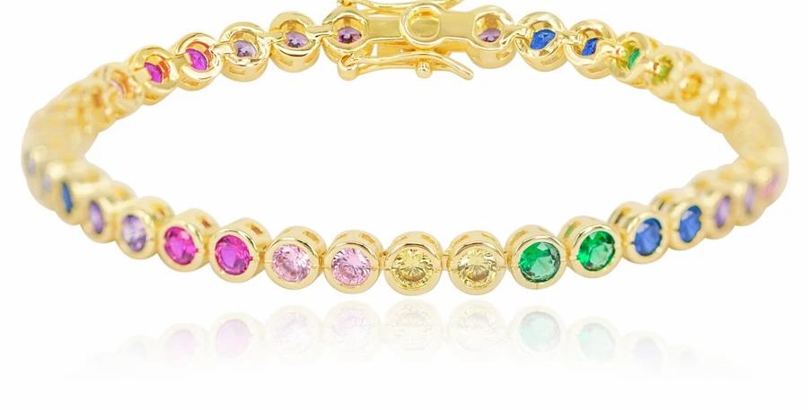 Baroness Bracelet Rainbow