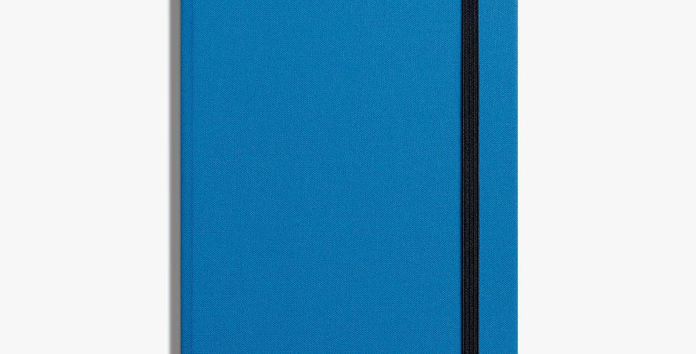Shinola Medium Hard Linen Journal:  Cobalt