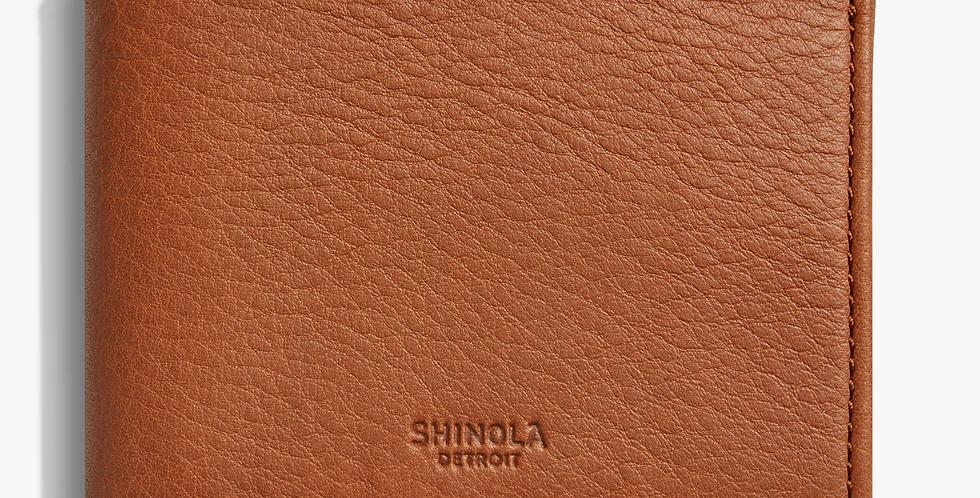 Shinola Slim Bi Fold Bourbon