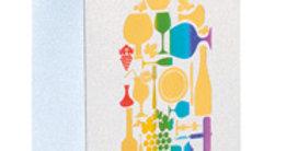 Wine Motifs Wine Bag