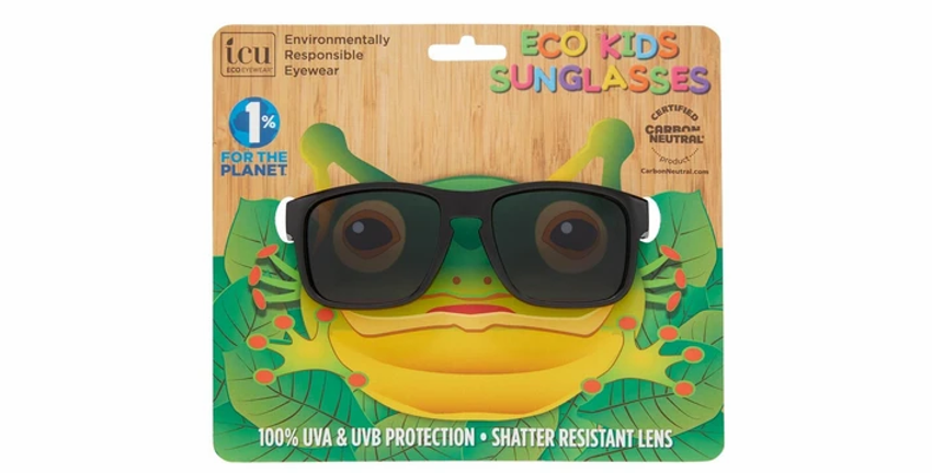 Stealth Kids Black Camo Square Sunglasses