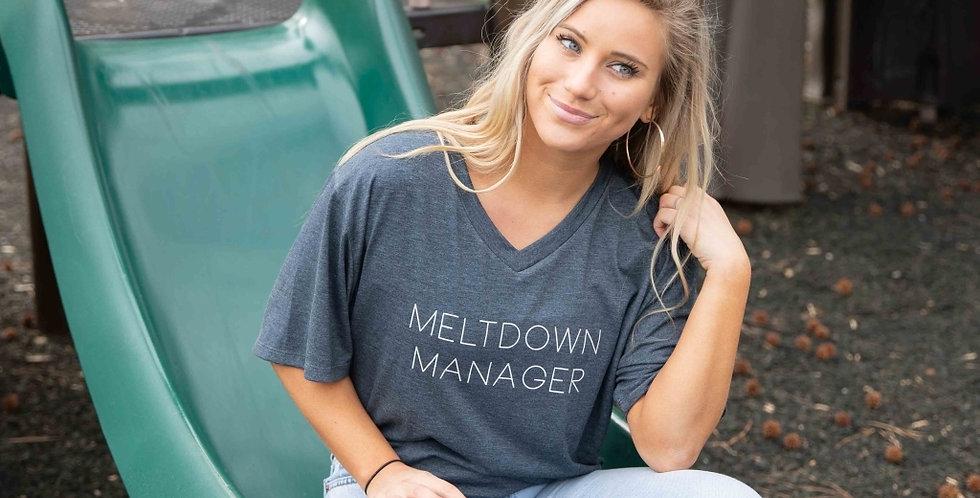 Meltdown Manager Tee