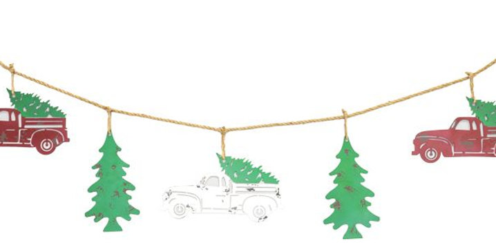 Traveling Christmas Tree banner