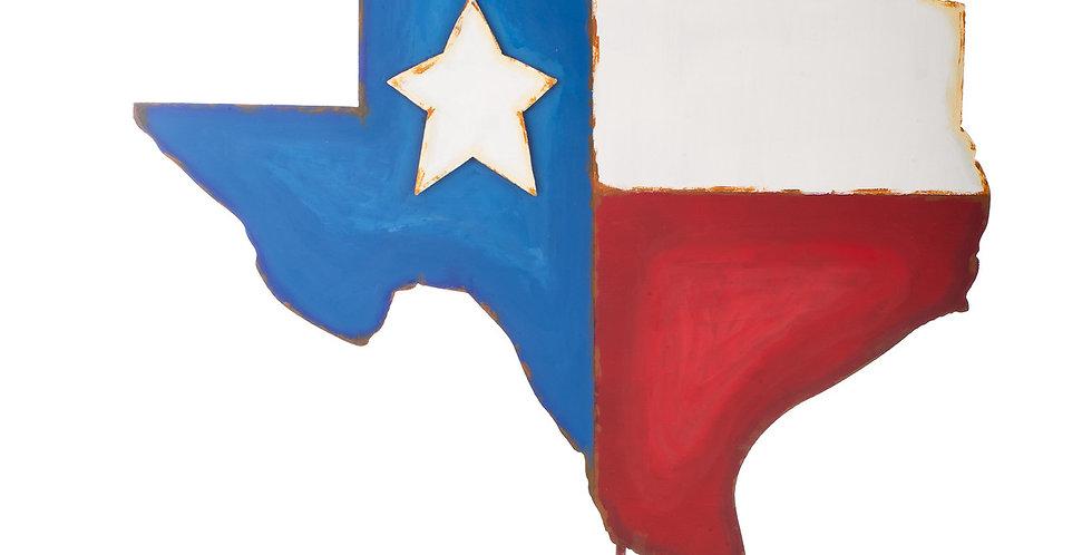 Large Texas-Shaped Flag
